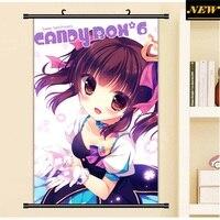 40X60CM THE IDOLM STER Cinderella Girls Bikini Loli Sexy Cameltoe Cartoon Anime Wall Picture Mural Scroll
