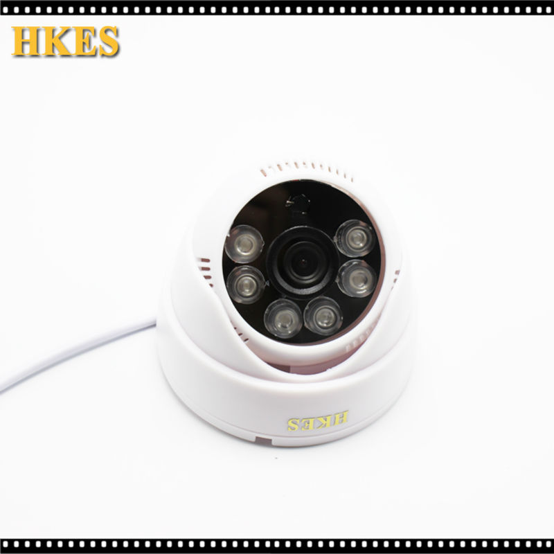 HKES HD IP Camera 720P 1080P Indoor Dome Cam IR Lens 2.8mm lens 2MP IP CCTV Security Camera Network Onvif P2P Android iPhone hkes 2pcs lot hd 1280 720p 1mp onvif ir dome ip camera indoor p2p ir cut filter network night vision cctv security mini cam