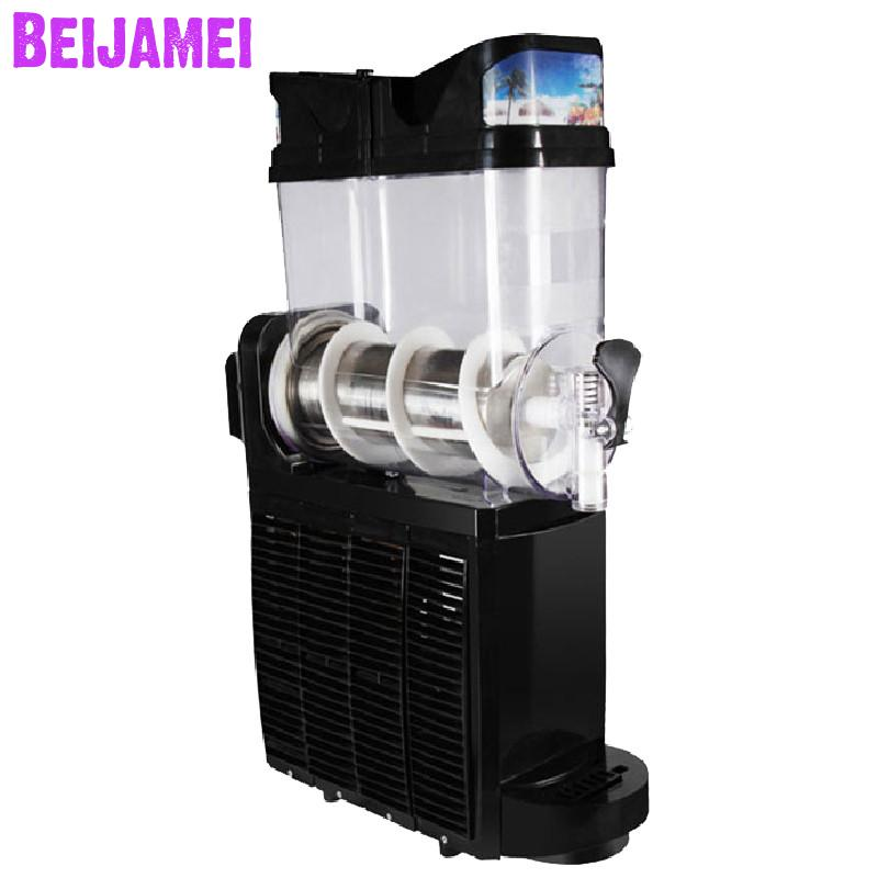Beijamei New Snow Melting Slush Making Machines One Tank Cold Drink Slush Machine Commercial Smoothie Maker