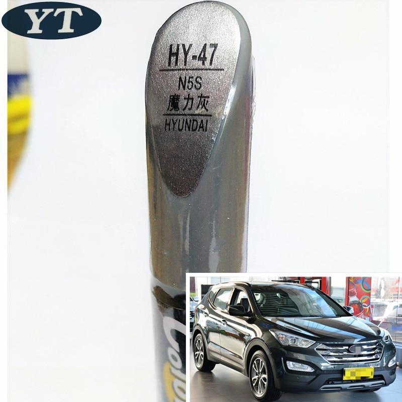 Car Scratch Repair Pen, Auto Paint Pen GRAY Color For Hyundai IX35 IX25 Elantra Accent I30 Verna Tucson Sonata Santafe