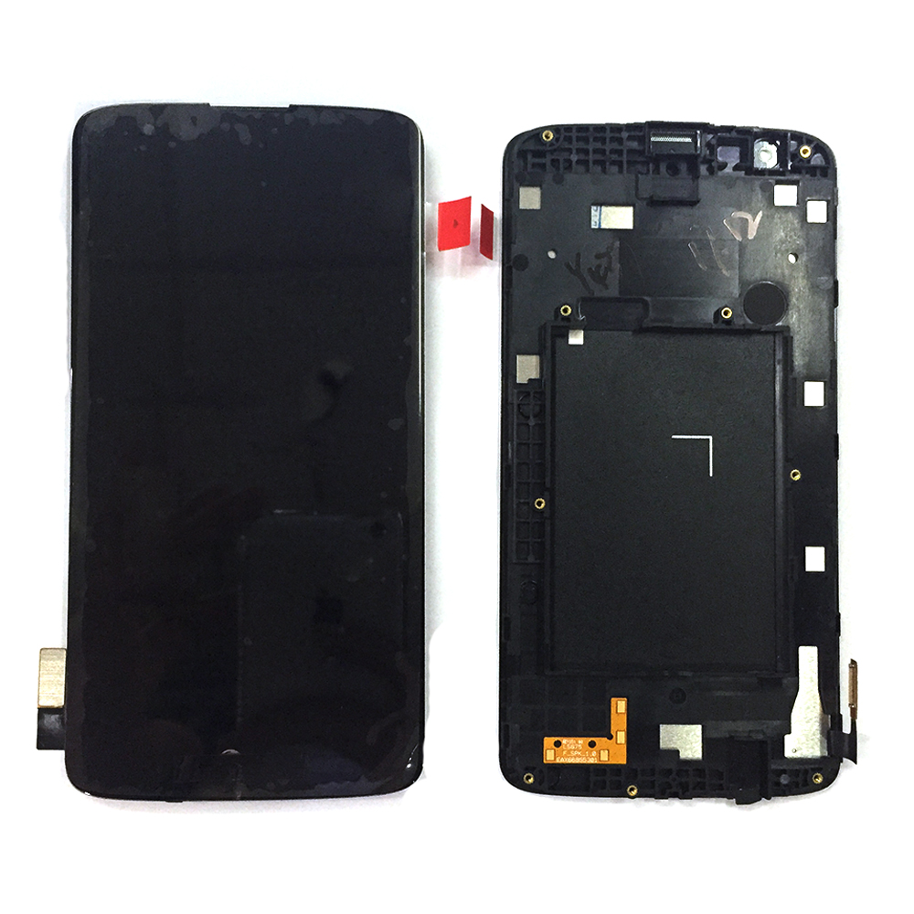 popular lg k screen buy cheap lg k screen lots from lg k for lg k7 ms330 ls675 tribute 5 lcd display touch screen assembly frame tools