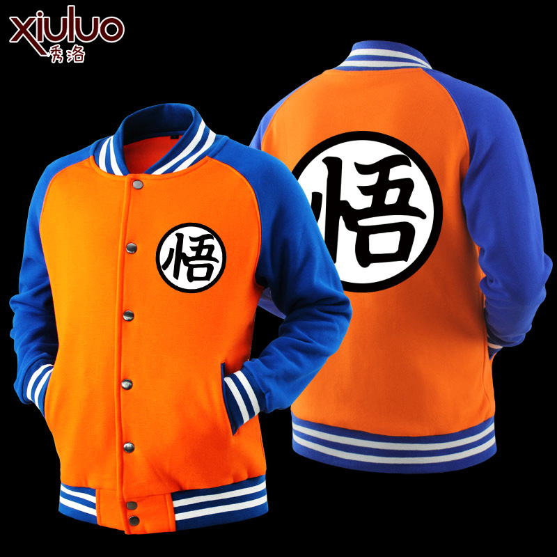 Männer Mantel Dragon Ball Wukong Pullover Anime Hoodie ...