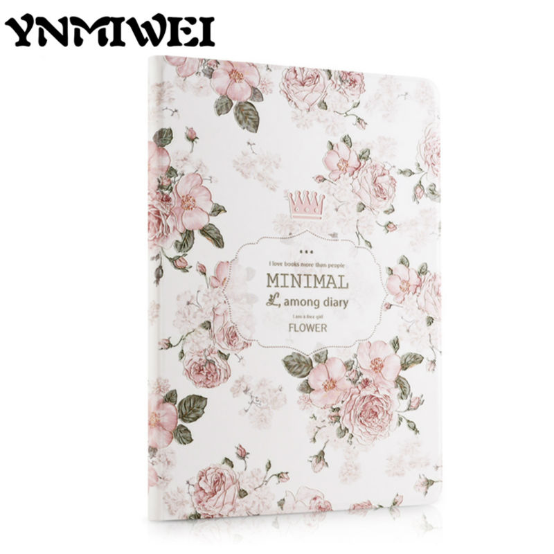For ipad 2017 Colorful Print Tablet PU Leather Case Cover 9.7 3D Relief Slim Protective Stand for iPad 2017 Smart Cases Shell