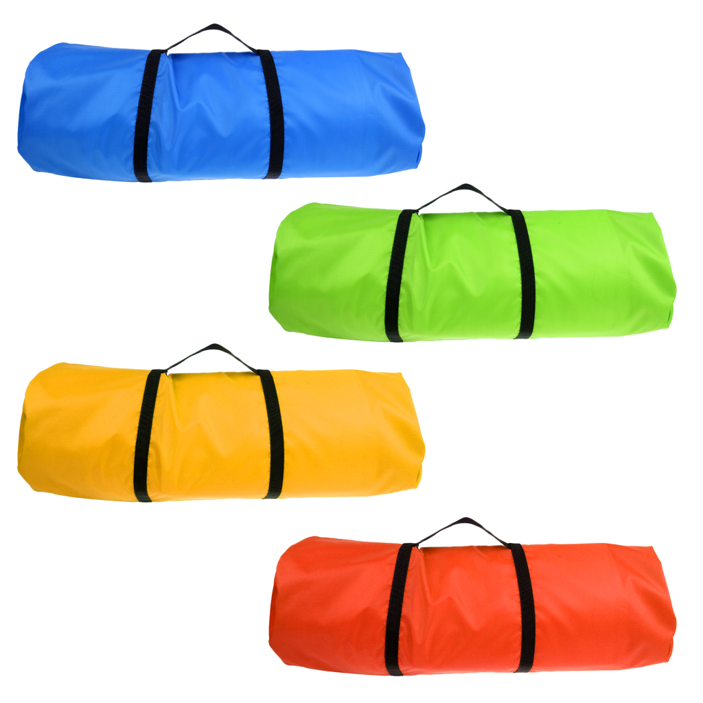 Water-Resistant 20D Tent Sleeping Bag Compression Sack Carrying Case Green