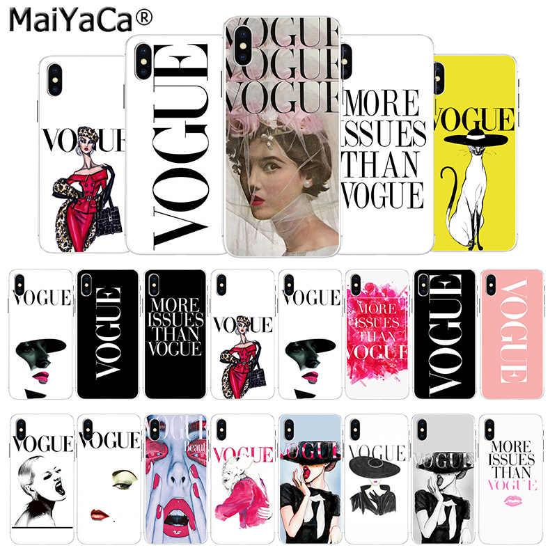 MaiYaCa ホット女性より問題よりも流行に販売電話ケース iphone 11 pro X 66S 7 7 プラス 8 8 プラス 5S 、 SE XS XR XS 最大カバー