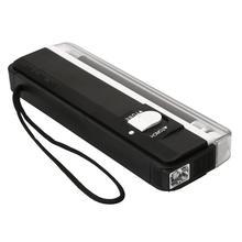 Ручной УФ лампа светильник фонарь светодиодный флэш-светильник детектор поддельный банкнот Банкноты паспорта Проверка безопасности