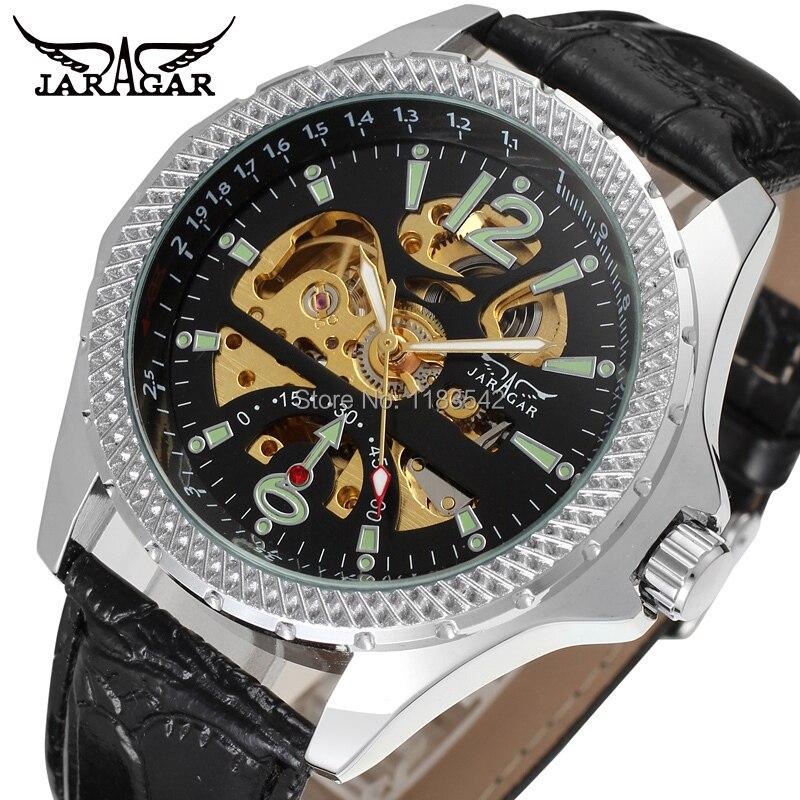 Herrenuhren Stetig Neugeschäft Uhren Männer Fabrikladen Top-qualität Automatische Männer Uhr Kostenloser Versand Jag8052m3s6