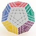 2016 Nova Shengshou Gigaminx Cubo Mágico SHS Profissional 5x5x5 PVC & Matte Adesivos Enigma Cubo Mágico velocidade Brinquedos Clássicos Navio Livre