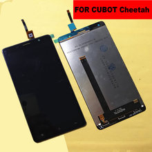 цена original FOR CUBOT Cheetah LCD Display +Touch Screen + frame +tools Digitizer Assembly Replacement Accessories