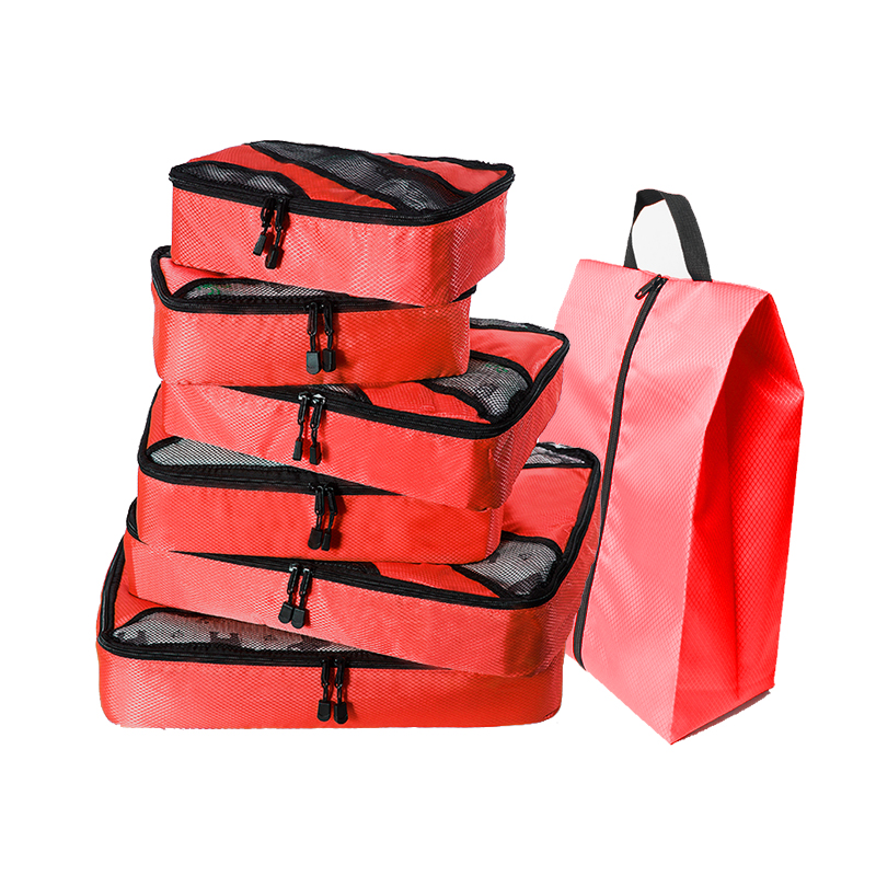 Packing Cubes Luggage Organizers Laundry Bags JuneBugz Travel Accessory for Suitcases Carry-on Back Packs Organize Clothing