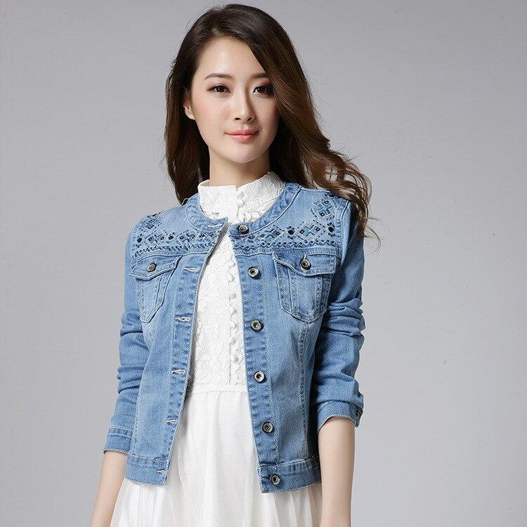 2015 otoño estilo coreano mujeres delgadas chaqueta de
