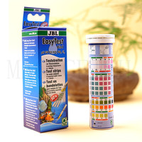 Germany JBL aquarium water test 50 PCS 6 in 1 test paper Water quality Testing NO2 NO3 PH KH GH fish tank testing