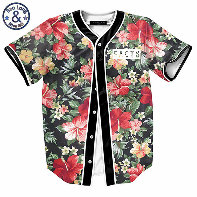 8bae4265f Men 23 Landscape Floral Print Beach T shirts 3d tee shirt camiseta homme  luxury t shirt men brand Contrast color Black tops