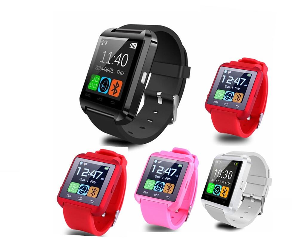 2018 U80 Intelligente Orologio Bluetooth U8 Smartwatch Android Orologio Per iOS iPhone Samsung Sony Huawei Xiaomi Telefoni Android PK GT08 DZ09