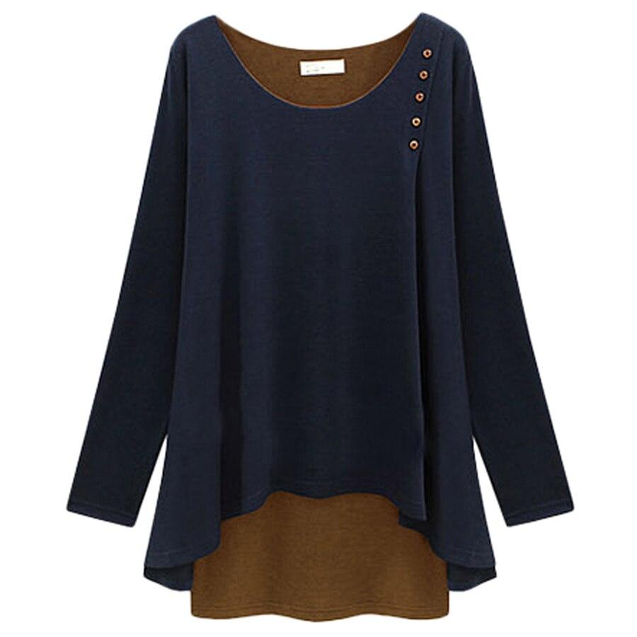 Blusa para mujer 2015 e invierno Camisas Blusas Femininas