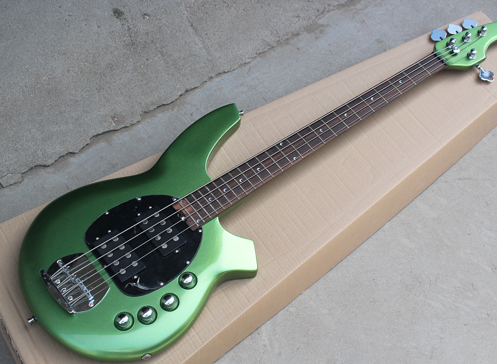 Metal Green 4 Strings ...