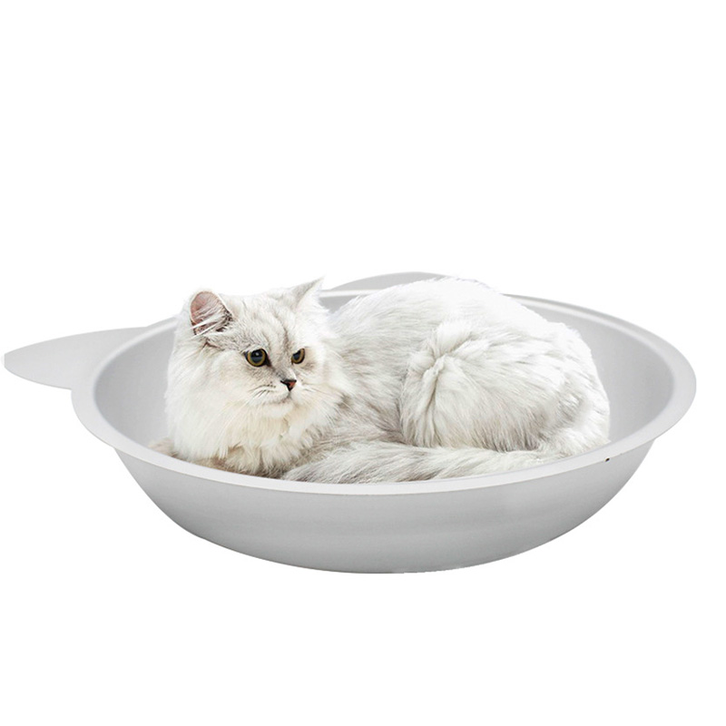 Summer Cool Cat Aluminum Pot Bed Shade Cooler Puppy House Cat Bed Ice Mats Pet Supplies 6