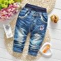 Primavera calças Jeans calças Jeans meninas Jeans crianças calças roupas Trsouers nova moda