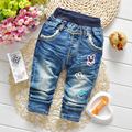 Spring Soft Denim Pants Casual Pants Baby Jeans Baby Girls Jeans Kids Trsouers Children's Clothing Blue New Fashion Baby Pants