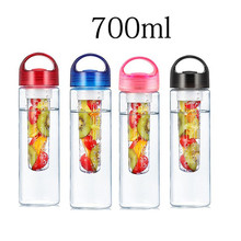 700ML Water Bottle Portable Fruit Infuser Water