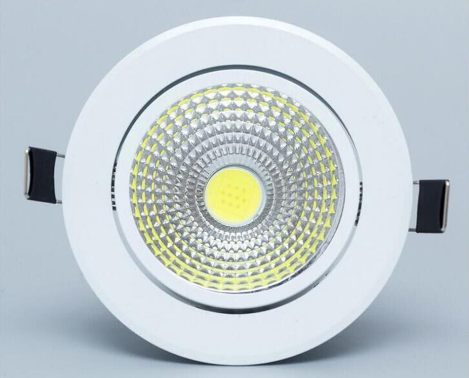 lâmpada do teto COB regulável Recesso Local