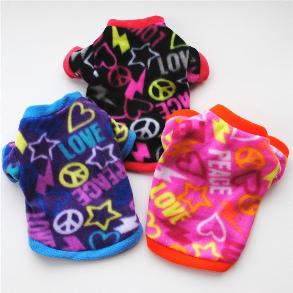 Теплый флисовый лежак для животных Одежда для собак с изображением черепа; Пальто любимчика щенка футболка для собак куртка панель в форме французского бульдога пуловер камуфляжной расцветки для собак, одежда для собак-5