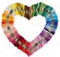 Горячая распродажа уникальный стиль 100 вышивка крестом хлопок вышивка темы зубочистки швейные мотки ремесло Dofferent цвета Wjo