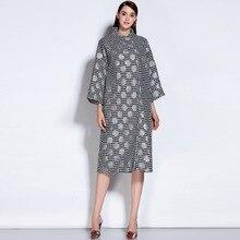2016 Autumn and Winter coat Women outerwear woolen overcoat women's wool coats medium-long  three quarter sleeve