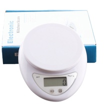 Digital Scale LCD Electronic Kitchen Scale Food Postal Balance Weight Measurement Tool Portable 5 Kg P