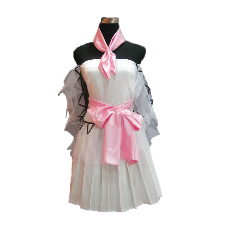 The Super Dimension Fortress Macross Lynn Minmay Uniform cosplay costume with gloves