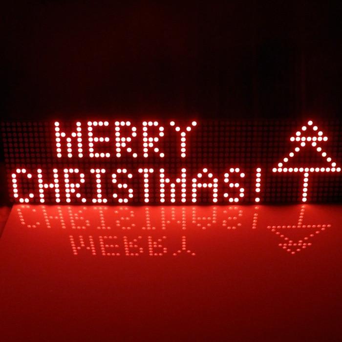Provide UNO MEGA2560 code 64x16 dot Matrix LED for Arduino AVR MCU diy Christmas Gifts Sign