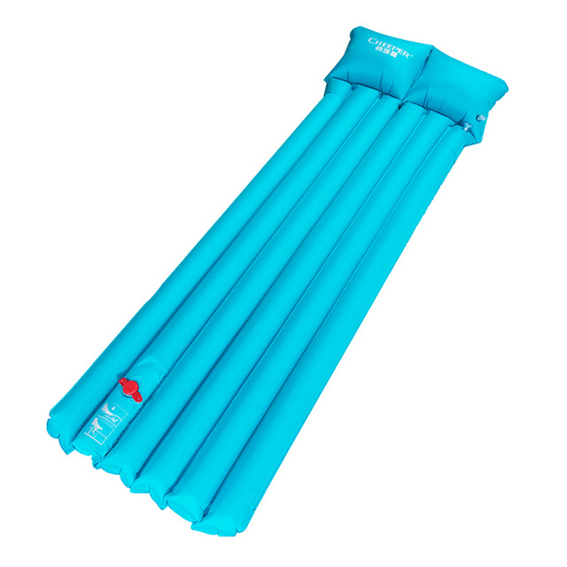 Portable Mattress Amphibious Waterproof Multiplayer Folding Outdoor Camping Mat Inflatable Bed With Pillow Press Type