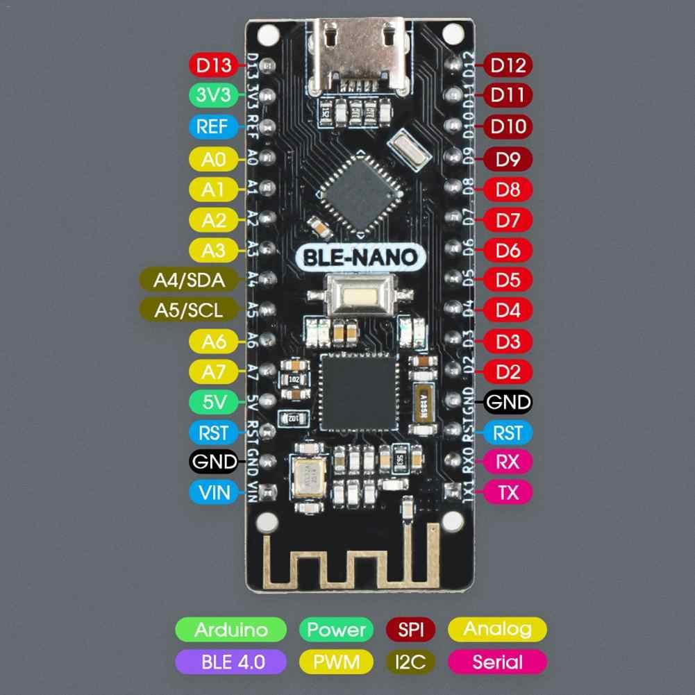 Ble bluetooth 4.0 + NANO-V3.0 = ble-nano 마더 보드 용 arduino BLE-NANO 용 NANO-V3.0 호환 uno arduino NANO-V3 용