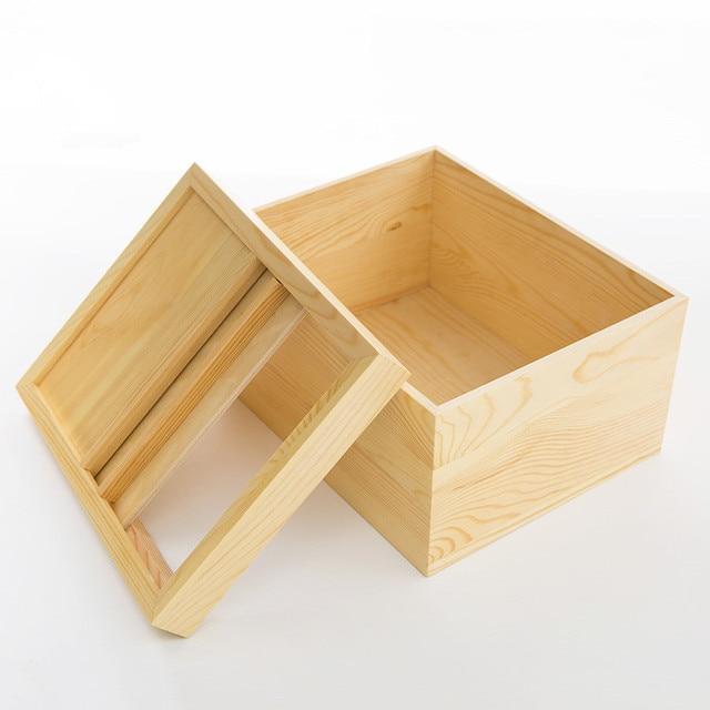Japon style en bois bo te de riz eco no peinture insectes - Boite a insecte ...