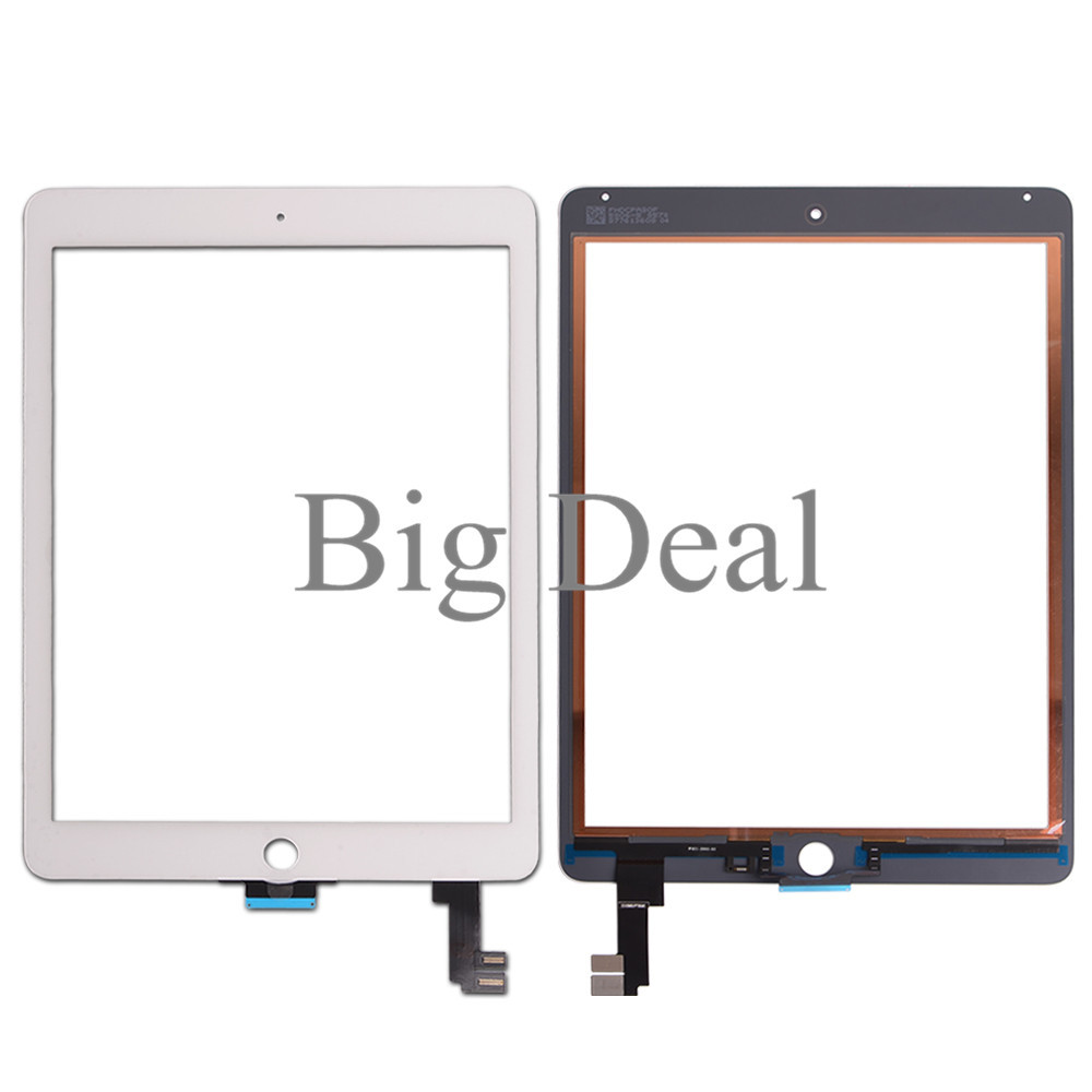 White FREE USA NEW Touch Screen Digitizer Replacement For Apple iPad 2 Black
