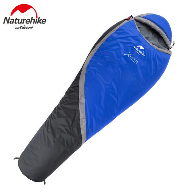 Naturehike Outdoor Camping Waterproof Warming Single Cutton Lining Sleeping Bags 3 Seasons Camping Backpacking Sleeping Bag