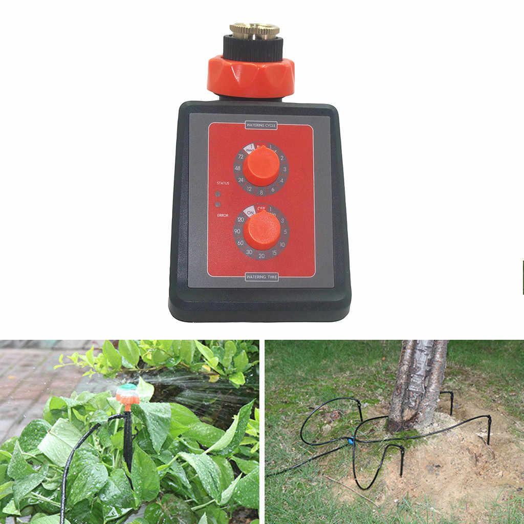 Aile Bahçe Sulama Otomatik Akıllı Elektronik su zamanlayıcı Bahçe Sulama İngilizce Arayüzü Ev Bahçe Araçları #30