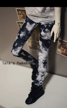 Cool Dye Ink Jeans Pants for 1/6 YOSD 1/4 MSD 1/3 SD10 SD13 SD17 Uncle BJD Doll Clothes CMB32
