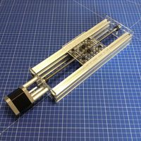 Funssor v slot linear Actuator Kit 100/200/300/400/500/1000mm travel for Reprap 3D printer CNC mill machine parts