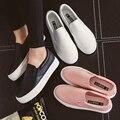 2017 новая Бесплатная доставка лето весна новая мода женская обувь повседневная сплошной цвет ПУ мокасины plarform женщин модная обувь