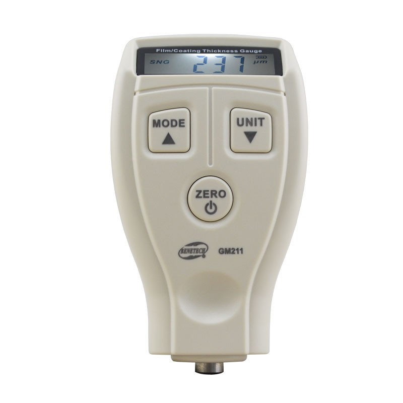 Coating thickness gauge 0-1800um Mini digital Paint film iron base thickness gauge Galvanized thickness measurement 0 1500um lcd film coating thickness gauge meter 2in1 fe nfe non magnetic surface paint coatings thickness measurement gm211