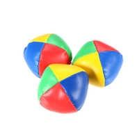 3Pcs Mini Jonglierball Set Klassische Sitzsack Kissen Bälle Weichen Stress Relief Spielzeug für Anfänger Kinder Kinder Interaktive spielzeug