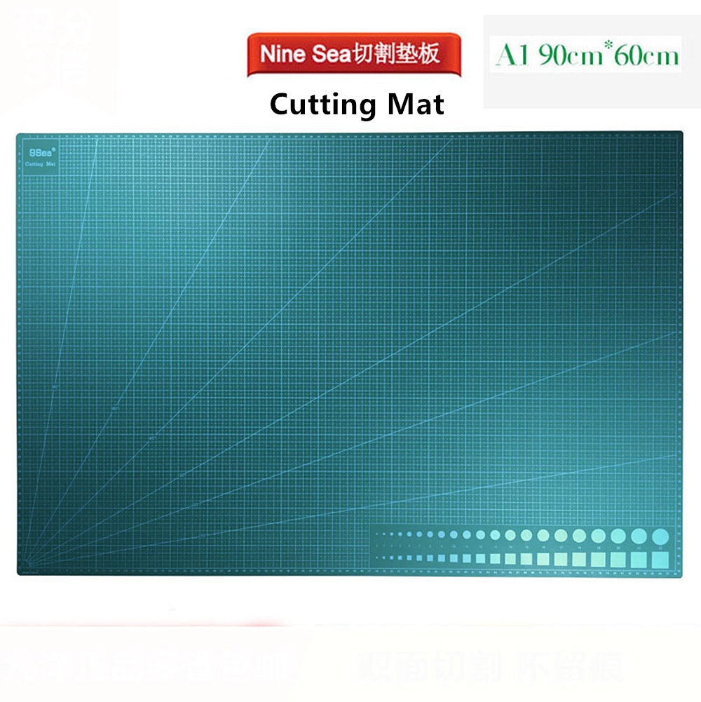 Nine 9 Sea Gundam model tool Double-sided scale Carving Cutting Mat A1 90*60cmNine 9 Sea Gundam model tool Double-sided scale Carving Cutting Mat A1 90*60cm