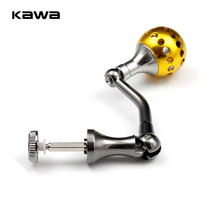 KAWA Vissen Reel Handvat met Aluminium Knoppen voor 1000 4000 Spinnen Rollen Vissen Handvat, hoge Kwaliteit Visgerei Accessoire