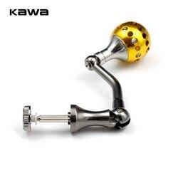 KAWA kołowrotek uchwyt z gałki ze stopu dla 1000-4000 kołowrotki uchwyt do połowu  wysokiej jakości sprzęt wędkarski akcesoria