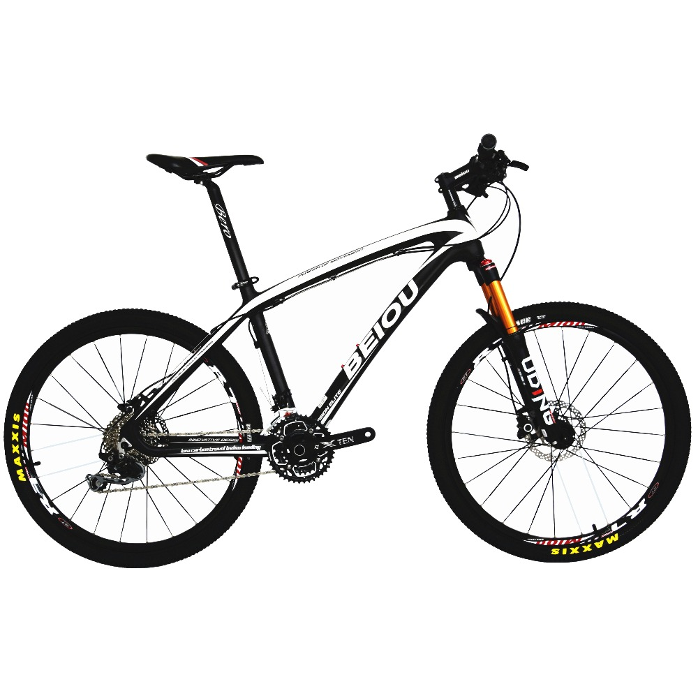Beiou углеродного 26-дюймовый горный велосипед Hardtail Trail Велосипедный Спорт 30 Скорость s h I m a n o M610 deore MTB 10.8 кг многоцветный bocb05 ...