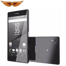 Разблокированный мобильный телефон sony Xperia Z5 E6653, 5,2 дюймов, GSM WCDMA ram, 3 ГБ rom, 32 ГБ, 4G LTE, Android, четыре ядра, камера 23 МП