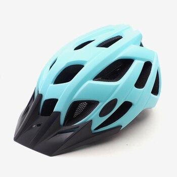 Casco de ciclismo con visera para hombre y mujer, casco Para bicicleta...