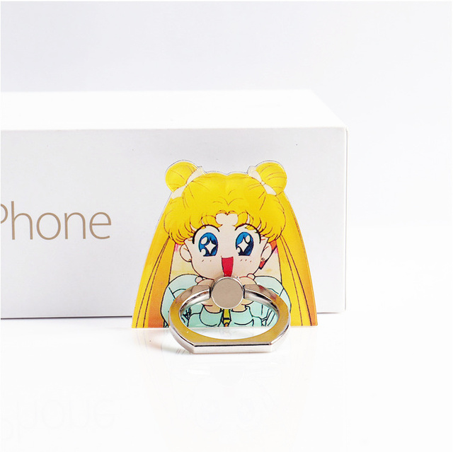 Anime Finger Ring Smartphone Holder 3