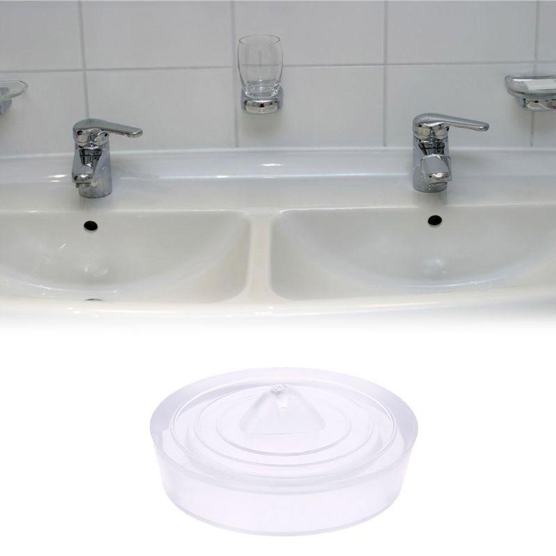 Silicone Floor Drain Plug Kitchen Bath Tub Sink Water Stopper Laundry Bathroom